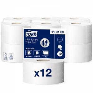 Tork papier toaletowy mini jumbo 110163