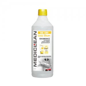 MEDICLEAN MC 580 Preparat do odkamieniania powierzchni w zmywarkach 1L