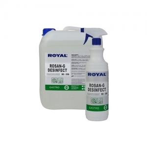 ROYAL RO-55G Preparat do mycia i dezynfekcji powierzchni i urządzeń gastronomicznych 1L