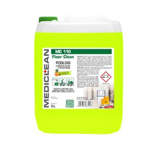 MEDICLEAN MC 110 Preparat do mycia i konserwacji podłóg 5L exotic