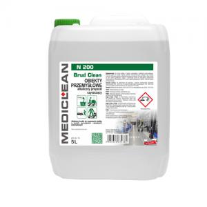 MEDICLEAN N200 Preparat do czyszczenia podłóg w obiektach przemysłowych 5L