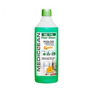 MEDICLEAN MC 110 Preparat do mycia i konserwacji podłóg 1L pomarańcza