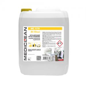 MEDICLEAN MC 570 Preparat do czyszczenia powierzchni w przetwórstwie spożywczym 5L