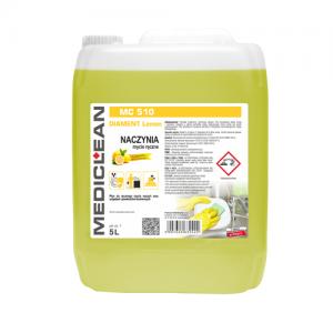 MEDICLEAN MC 510 Płyn do ręcznego mycia naczyń 5L cytryna