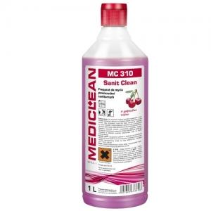 MEDICLEAN MC 310 Preparat do mycia urządzeń sanitarnych 1L wiśnia